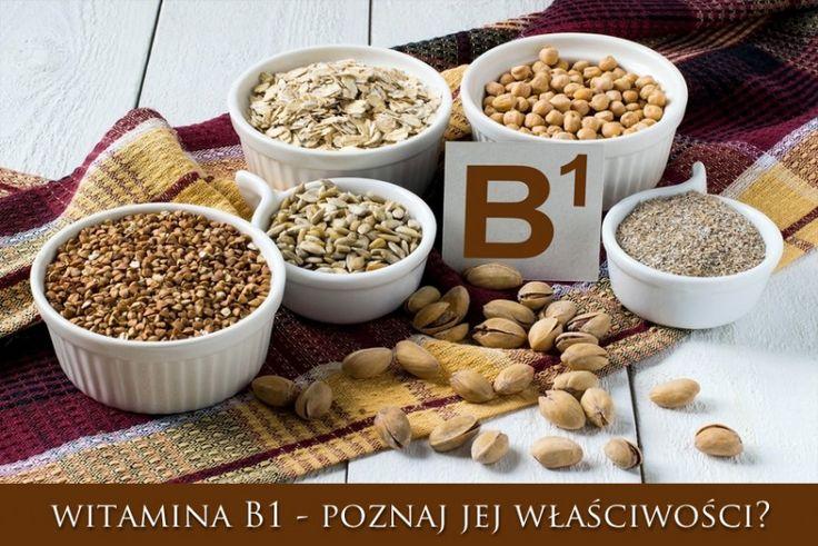 Aneuryna, Tiamina czyli garść informacji o witaminie B1 - Sygnatura zdrowia