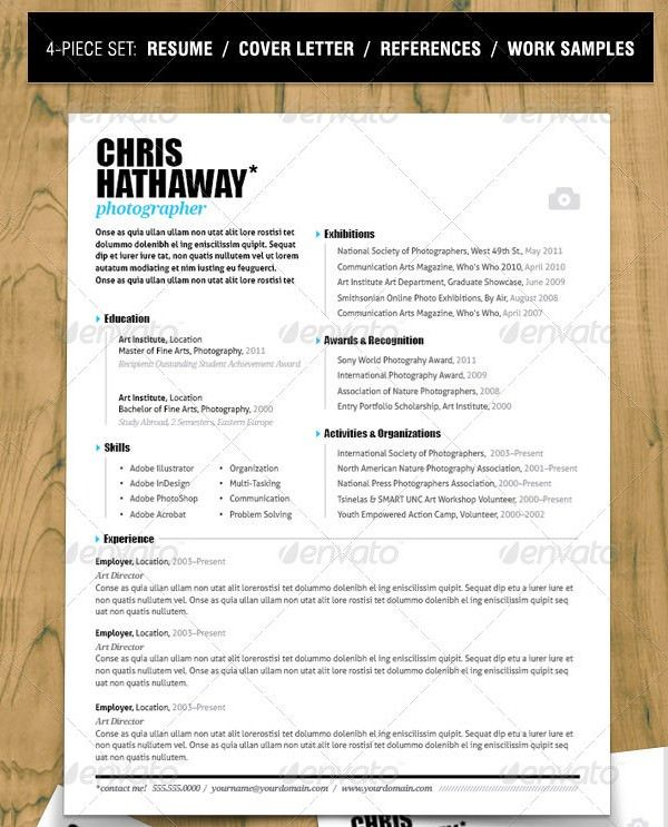 1000+ Ideas About Resume Template Download On Pinterest