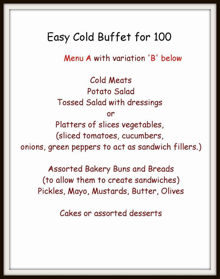Best 25 Cold Buffet Ideas Ideas On Pinterest
