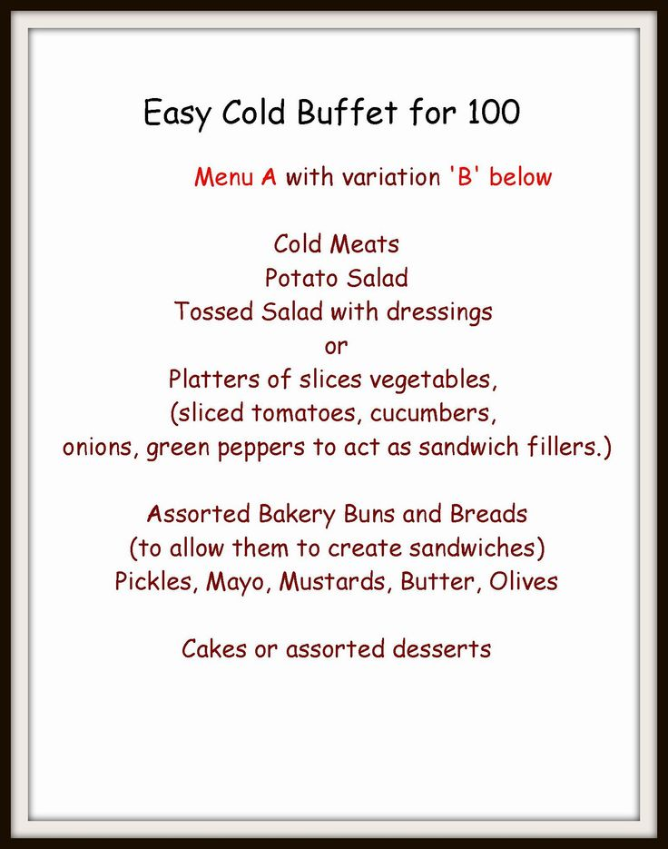 17 Best Images About Recipes Buffets And Food Bars On