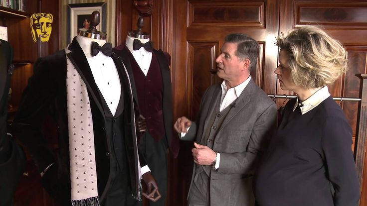 Jeremy Hackett talks about men's style at the BAFTAs