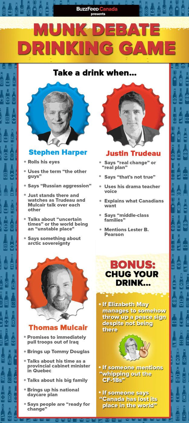 Our Election Debate Drinking Game Is Back And Were So Sorry
