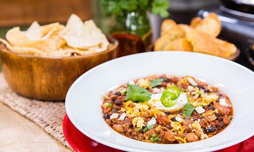 @Cristina Ferrare makes #CrockPot dishes for #SuperBowl Sunday