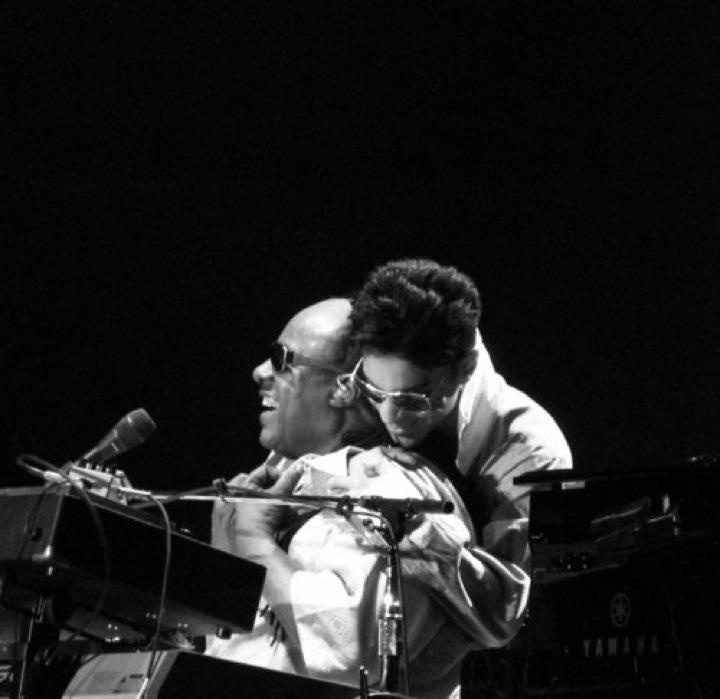 Stevie Wonder and Prince