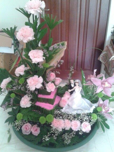 Een bruids bloemstuk