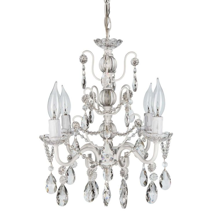17 Best images about Shop Crystal Chandeliers by Amalfi D cor on – White Plastic Chandelier