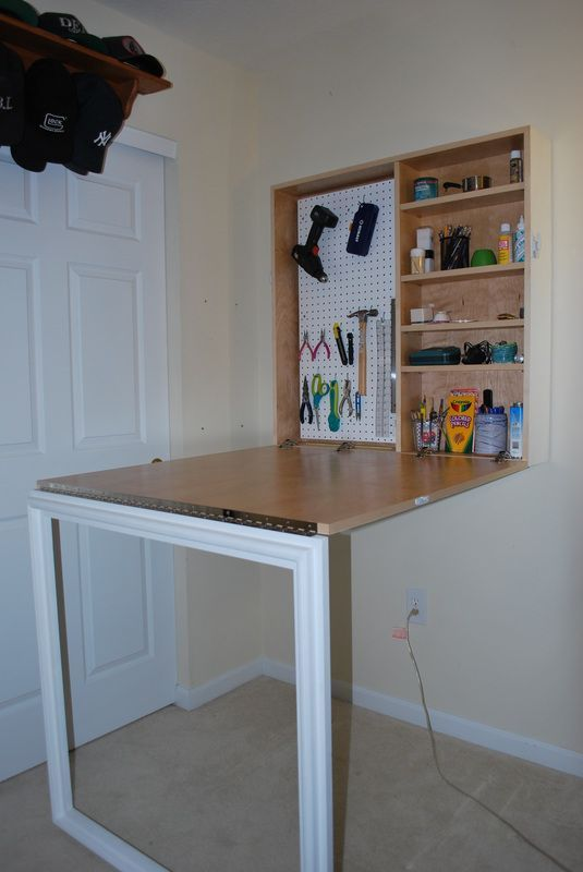 fold down desk large Google Search Craft table diy