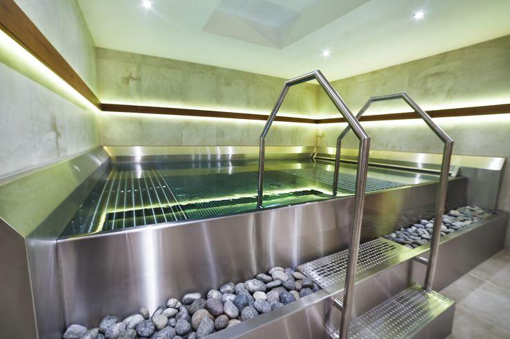 Stainless steel spa in wellness Liptovská Osada, Slovakia