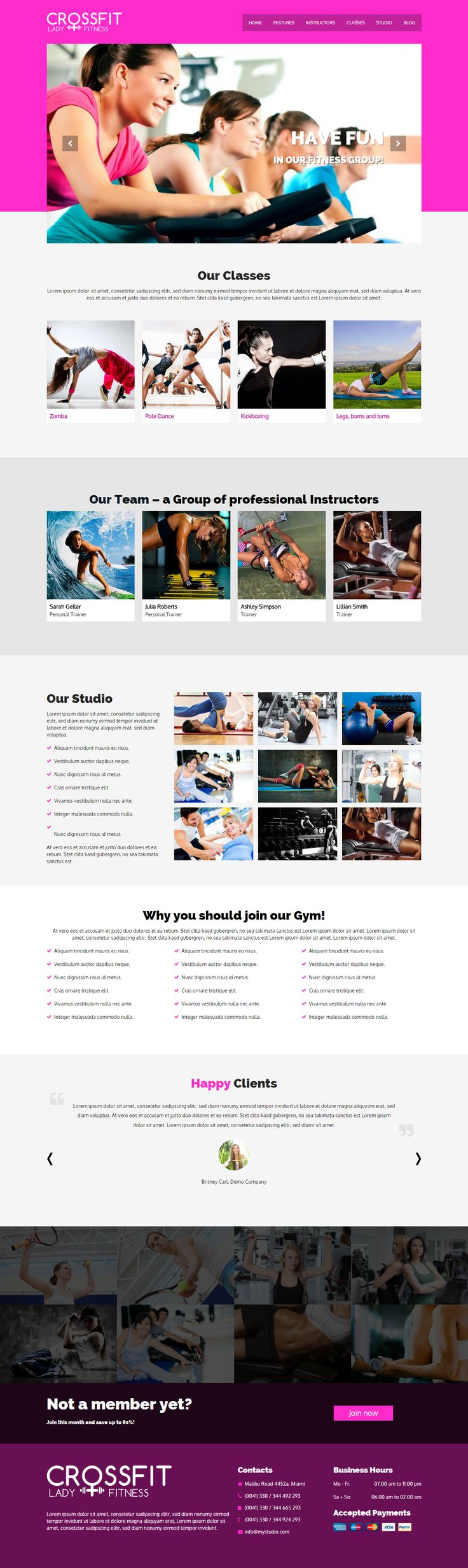 Crossfit - Responsive Sport & Gym WordPress Theme  http://7theme.net/downloads/crossfit-wordpress-gym-theme/