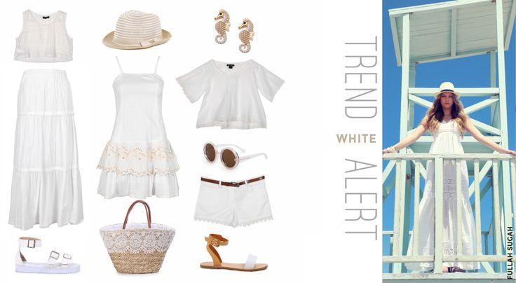 #TrendAlert #white #fullahsugah #fulllah_sugah #ss2014 #colection #fashion #shopping