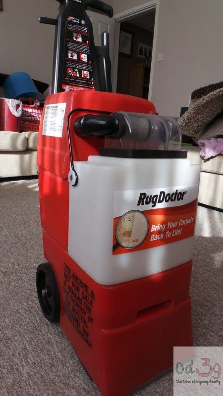 The Rug Doctor Machine.