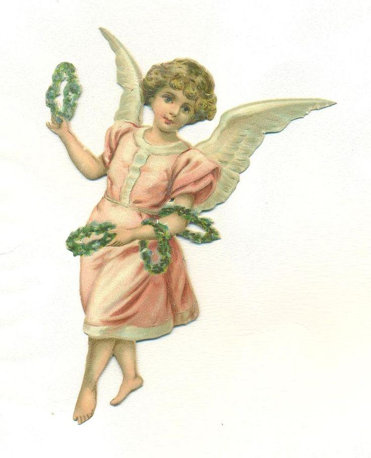victorian  scrap angel