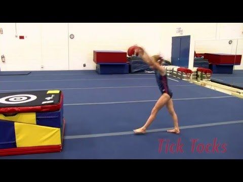 Tick Tocks Shoulder flexibility is so important for a variety of skills in gymnastics. The Tick Tock is an exercise that all level athletes can do to increase their shoulder flexibility and control. Training Tip Tuesday! Every Tuesday we will put up a training tip to show basic techniques to more complex skill progressions! Visit our channel every Tuesday to watch a new Training Tip! www.youtube.com/tumbltrak