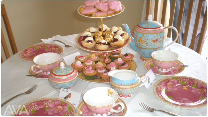 high tea hire tea cups cake plate northern beaches sydney AVA PARTY HIRE Call us on 9938 5599 for a quote