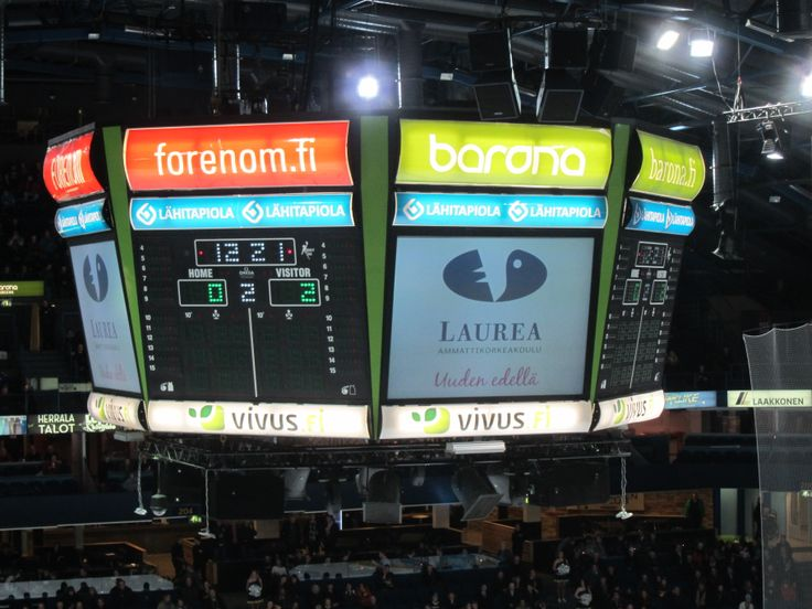 Blues-Ilves Icehockey game 5th of February 2014 at Barona Arena.