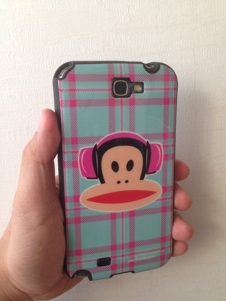 I finally got it!!! Paul Frank Hardcase for Samsung Note2!! Yeah~!!