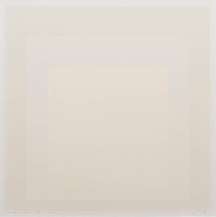 Gray Instrumentation II h | Josef Albers