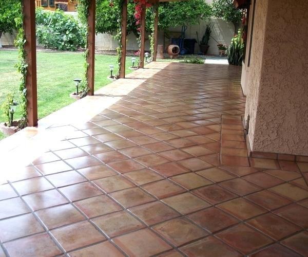 Mexican Floor Tile Home Depot Sulaco Us Patio Tiles Outdoor Tiles Patio Flooring