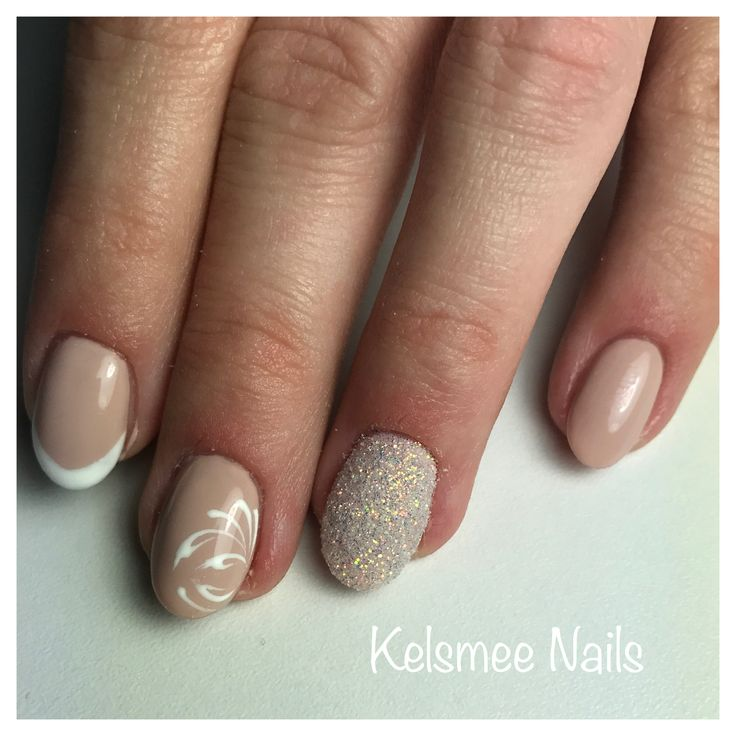 Nudes, sugarnails, french manicure and nailart