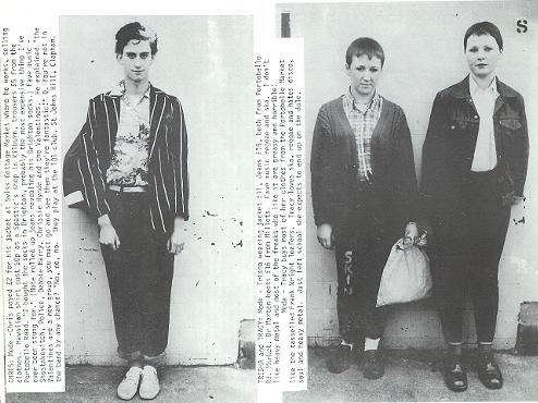 1980 39 S Street Style I D Magazine Uk Punk Post Punk Indie Pinterest Street Styles