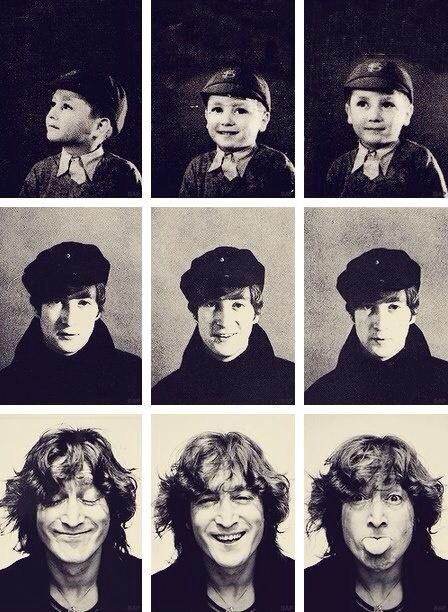 John Lennon evolution
