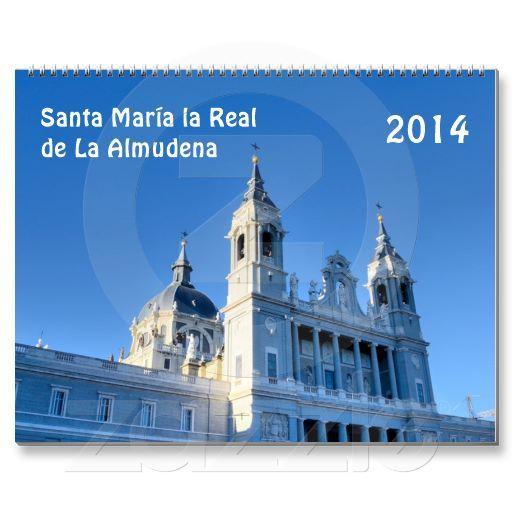 Santa María la Real de La Almudena, the Catholic cathedral in Madrid. 2014 wall cathedral