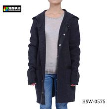 Fashion Hooded Wool Knitted Women Winter Coats  Best Buy follow this link http://shopingayo.space
