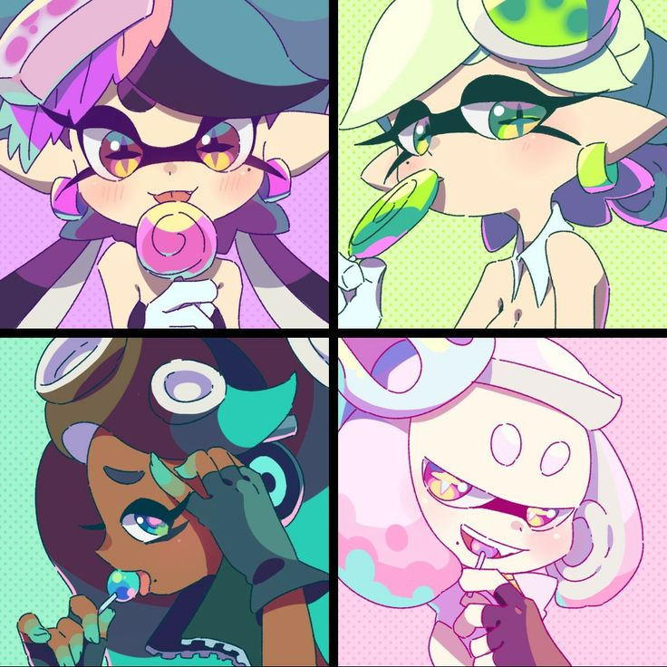 Squid sister and Off the hook