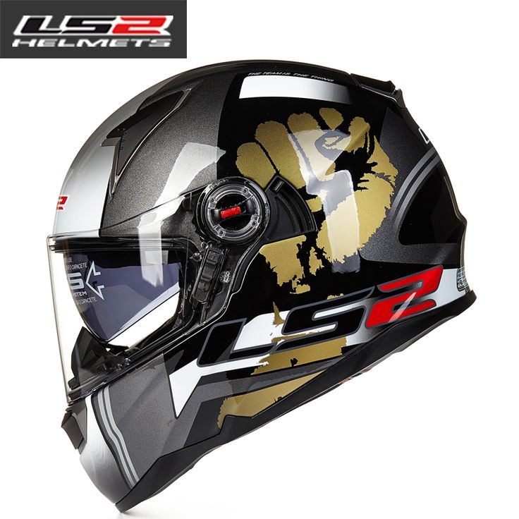 LS2 FF396 Glass Fiber Helmet Full Face Motorcycle Helmet Dual Lens With Airbag Bike Helmets ECE Capacete Motoqueiro Casque Moto |  Buy online LS2 FF396 glass fiber helmet full face motorcycle helmet dual lens with airbag bike helmets ECE Capacete motoqueiro casque moto only US $130.99 US $124.44. We provide the discount of finest and low cost which integrated super save shipping for LS2 FF396 glass fiber helmet full face motorcycle helmet dual lens with airbag bike helmets ECE Capacete…