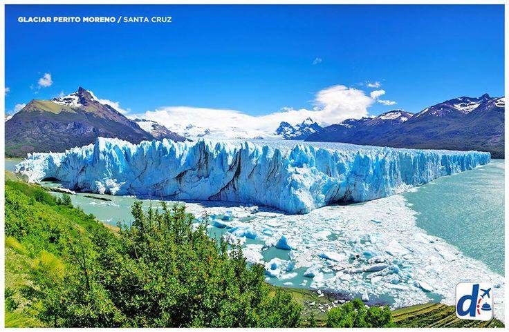 #SantaCruz - Argentina --> Glaciar Perito Moreno.