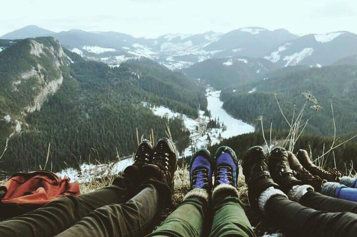 Mountains girls..