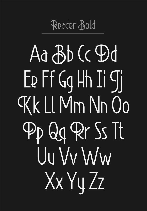 Swirl, fun typeface