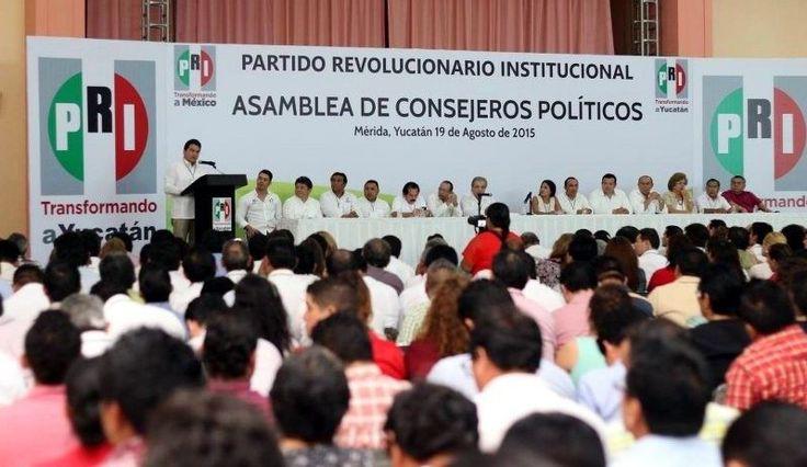 PRI de Yucatán ratifica fórmula Manlio Fabio Beltrones- Carolina Monroy