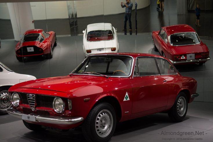 Visite du Musée Alfa Romeo d'Arèse