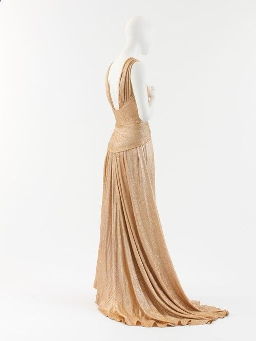 evening dress ca. 1934 via The Costume Institute of The Metropolitan Museum of Art