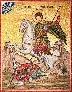 Saint Materne: Saint Dimitri de Thessalonique - nouveau tropaire