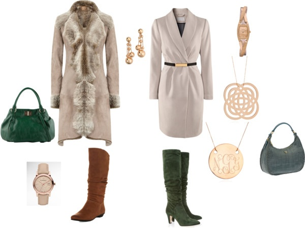 """""""Soft Classic outerwear ideas"""" by msalij on Polyvore"""