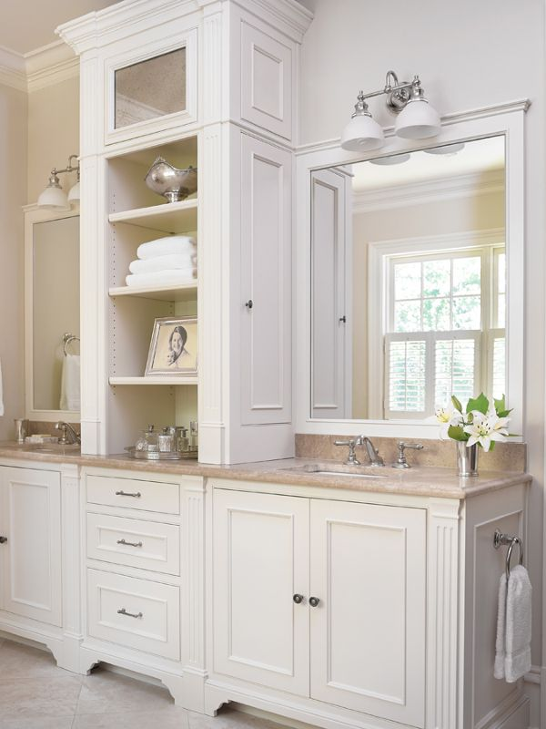 Best 20 bathroom vanity mirrors ideas on pinterest - Bathroom vanities nebraska furniture mart ...