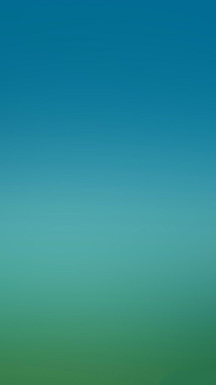 Blue Green Gradation Wallpaper Hijau Warna Gambar