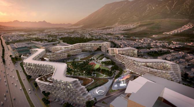 Esfera City Center by Zaha Hadid Architects