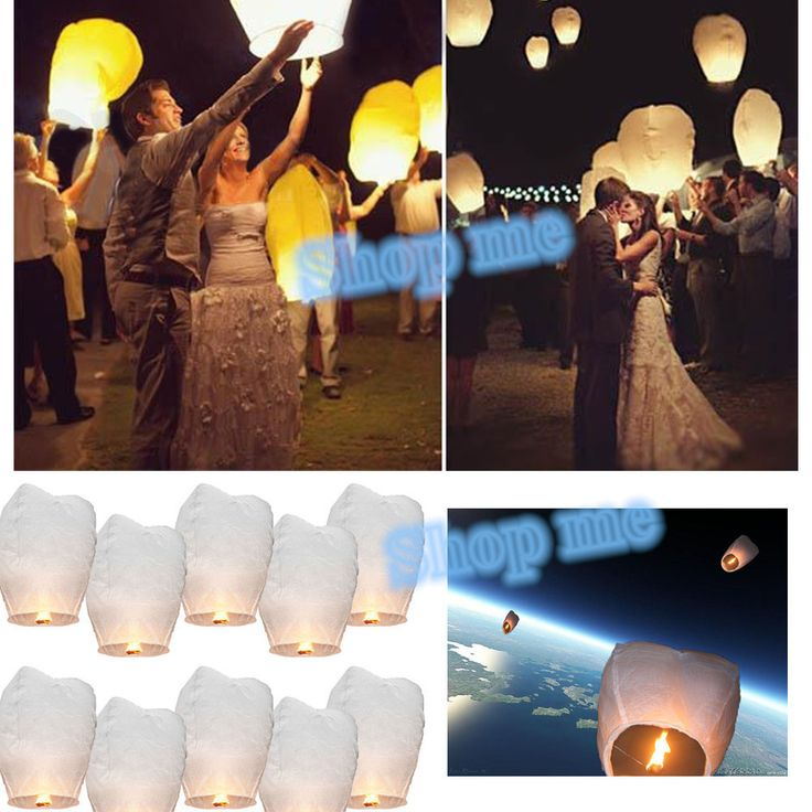 Pas cher 10 pcs livre blanc lanternes chinoises feu Sky voler papier bougie souhaits lampe pour souhait d'anniversaire Party Decoration de mariage, Acheter  Accessoires de fêtes et d'évènement de qualité directement des fournisseurs de Chine:                                          Nous sommes honorés prés