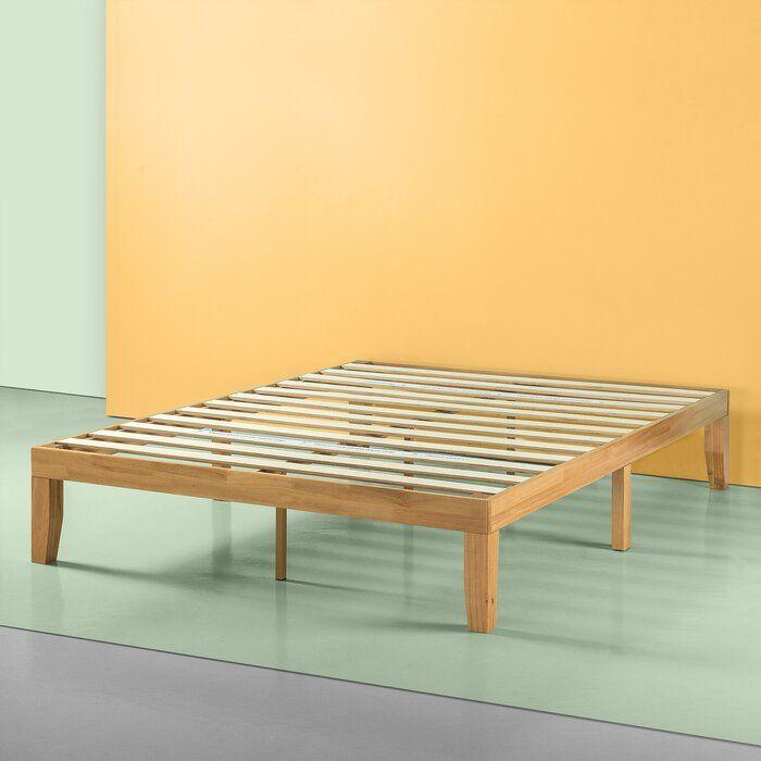 Maggie Platform Bed In 2020 Wood Platform Bed Wood Platform Bed