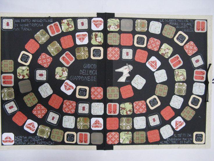 Giochi da tavolo - Gioco dell'oca giapponese - un prodotto unico di lababajaga su DaWanda