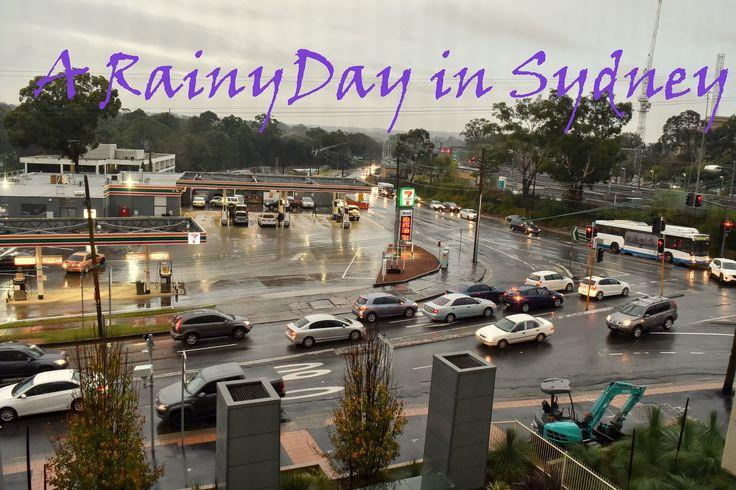 Sydney Today - A Rainy day in Sydney Australia
