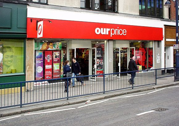 It was only a few years after Our Price had disappeared that I suddenly noticed there were no branches around anymore. I used to frequent the Manchester Piccadilly branch, and occasionally the two story shop in Stockport.