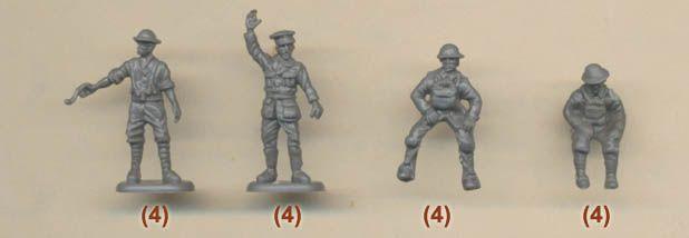 Plastic Soldier Review - HaT                                                WWI British Artillery Crew