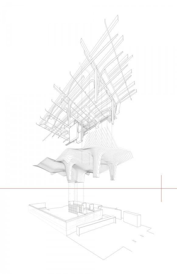 office da architects. banq office da da architects