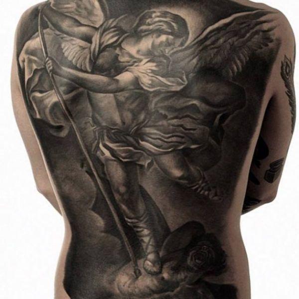 25 best ideas about angel back tattoo on pinterest. Black Bedroom Furniture Sets. Home Design Ideas