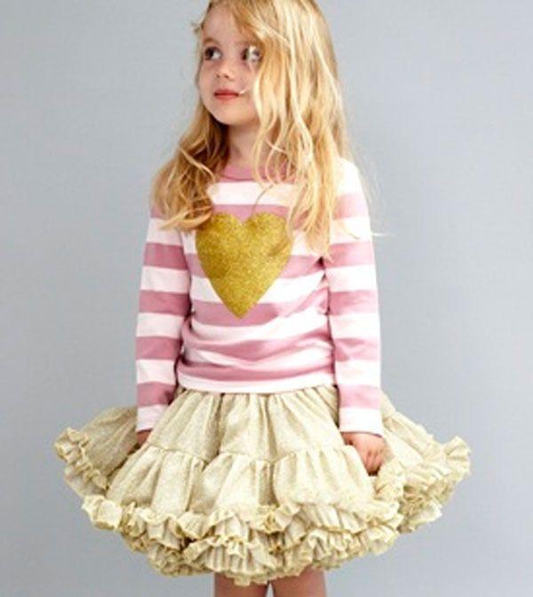 ruffles {too cute!}: Tutu Flower Girls, Powder Pink, Pink Stripes, Kids Fashion, Adorable Little Girls, Cute Kids, Baby Girls Vintage Fashion, Collaborative Kidsfashion, Girls Outfit