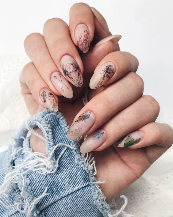 10 Most Beautiful Holidays Nail Ideas New Years 2019